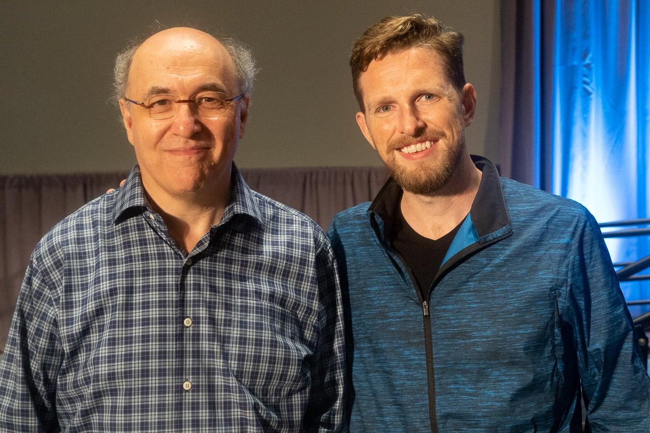 Stephen Wolfram and Matt Mullenweg